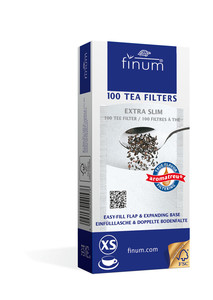 100 Tea Filters size Extra Slim - up to 2 cups