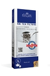 100 Tea Filters size Large White- up to 6 cups