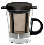 Tea Glass System 8 oz with Plastic handle